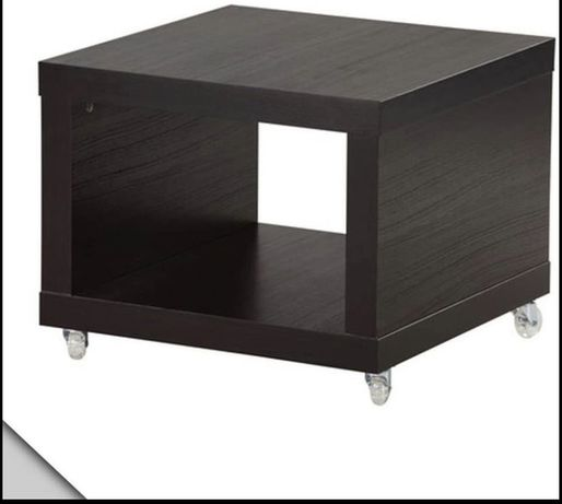 Mesa de apoio Lack Ikea com rodas em bom estado
