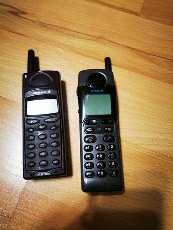 Telefony z antenką z lat 90-tych