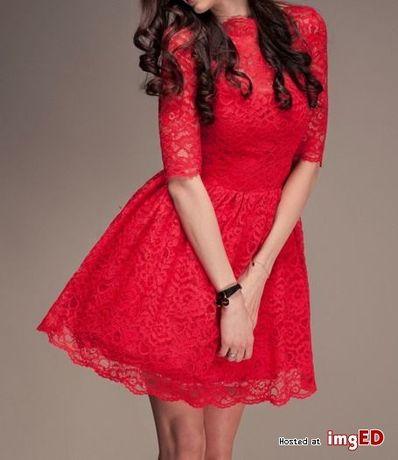 Lou rosetta M sukienka czerwona