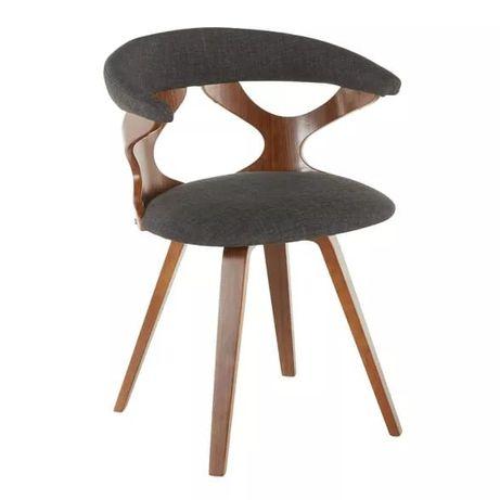 Krzeslo gięte drewno obrotowe