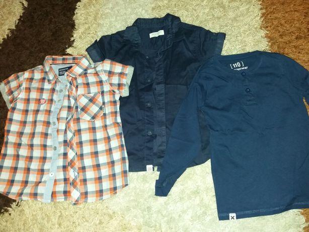 2 szt.koszul 98 Reserved. bluzka reserved 98-104 .stan idealny