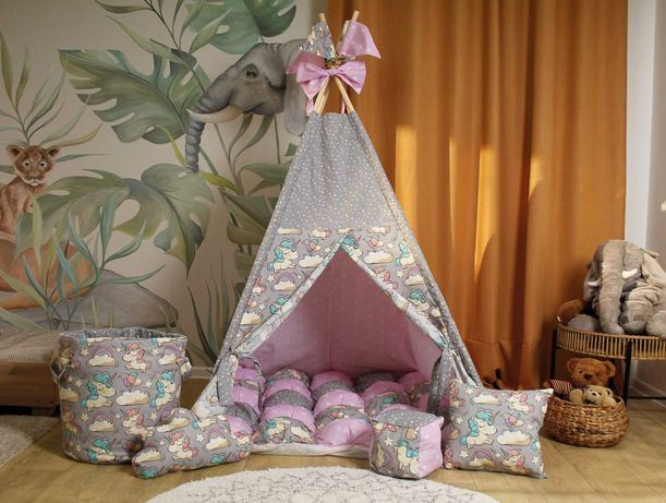 Детский домик, вигвам палатка. В наличии разные расцветки.