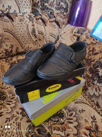 Обувь кожаная , 27 размер, туфли