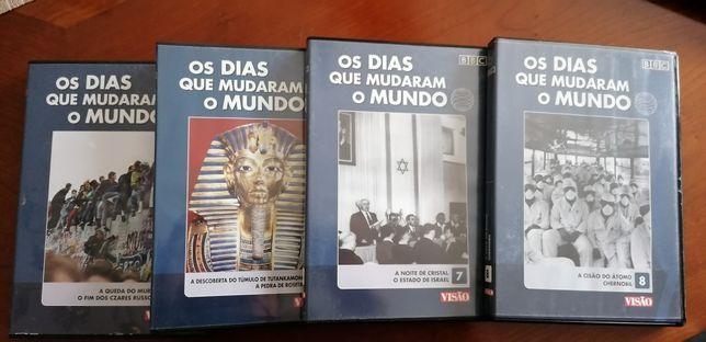 DVD,s os dias que mudaram o mundo