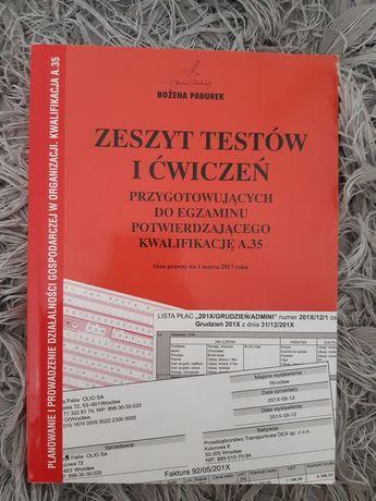 Zeszyt testów i ćwiczeń przygotowujących do egzaminu A.35. NOWE