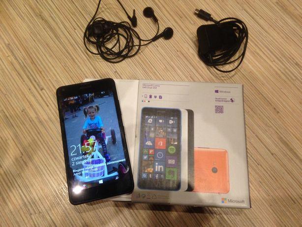 Microsoft Lumia 640 telefon komórkowy smartfon dual sim Nokia czarny