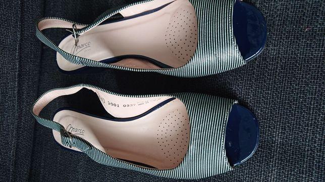 Skórzane buty MARCO