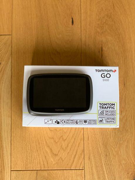 TomTom Go 5100 - przenośna nawigacja z dożywotniąaktualizacją map