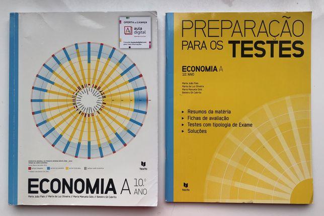 manual + caderno de atividades economia 10 ano