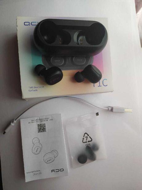 Бездротові навушники QCY(Xiaomi) T1C Black TWS