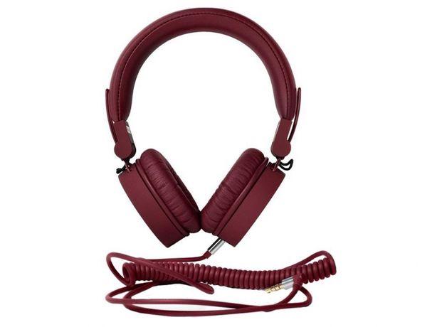 Słuchawki nauszne Fresh N ' Rebelbordowe na prezent!! NOWE
