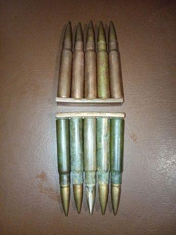 Макеты патронов Mauser 98k (2 обоймы)
