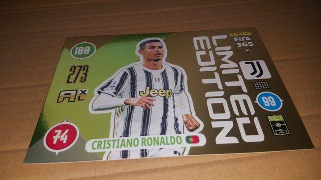 Panini Fifa 365 Updet 2021 Duża limitka Cristiano Ronaldo
