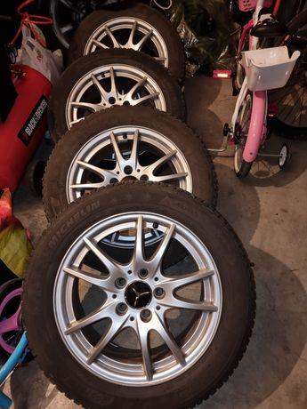 Jantes mercedes + pneus