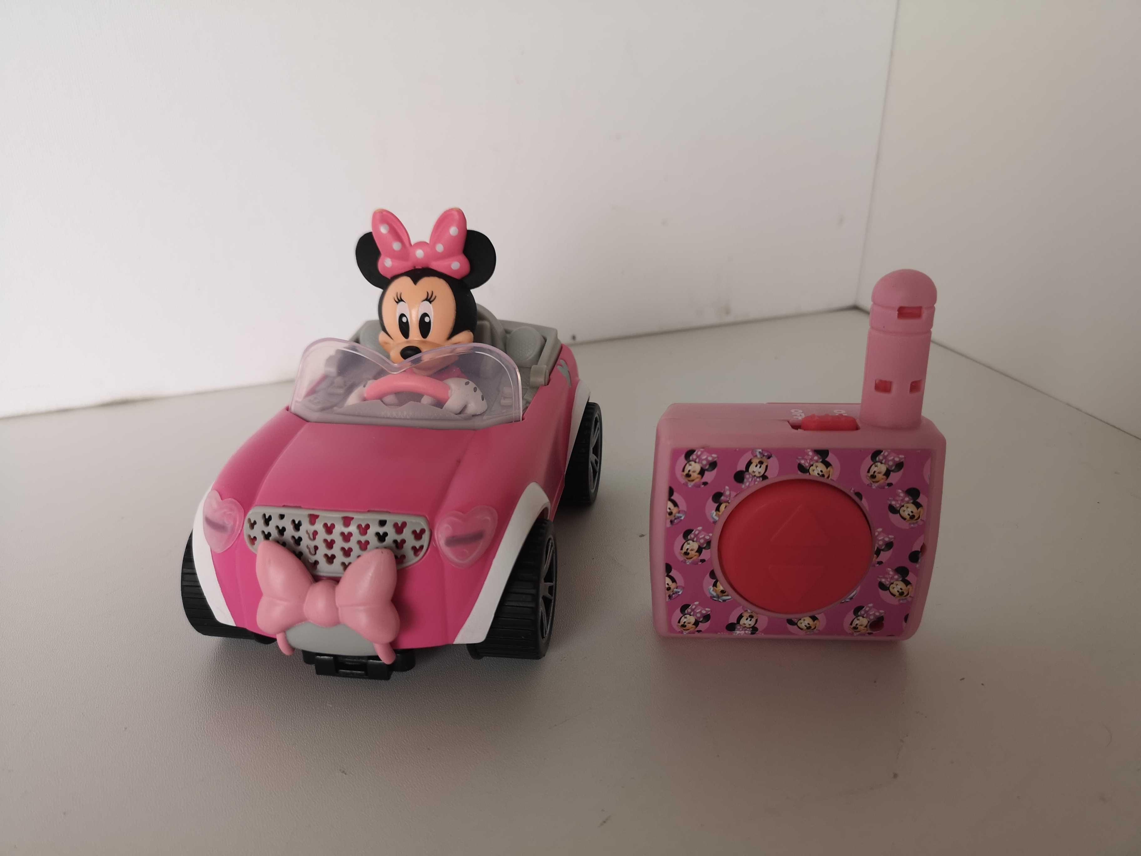 Myszka Minnie Zdalnie Sterowany Samochód