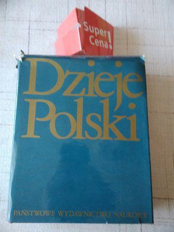 """książka """"Dzieje Polski"""" Jerzy Topolski"""