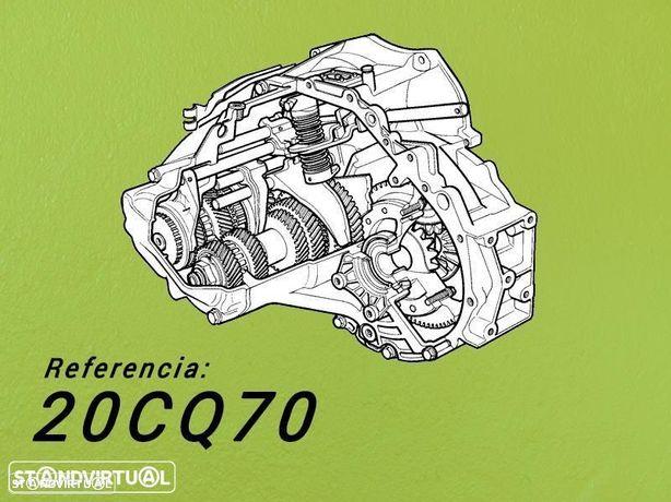 Caixa de Velocidades Reconstruída PEUGEOT Bipper 1.4 Hdi de 2008. Ref: 20CQ70