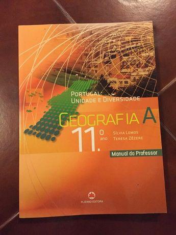 Geografia A 11º Ano - Bloco completo - Ed. Plátano