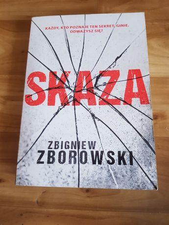 Książka Skaza Zbigniew Zborowski