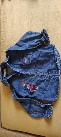Стильная джинсовая ветровка 2-3 года