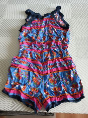 Kombinezon sukienka spodenki