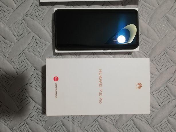 Huawei P30 Pro 256 GB 8Gb RAM Black + Phones Marchall Novos