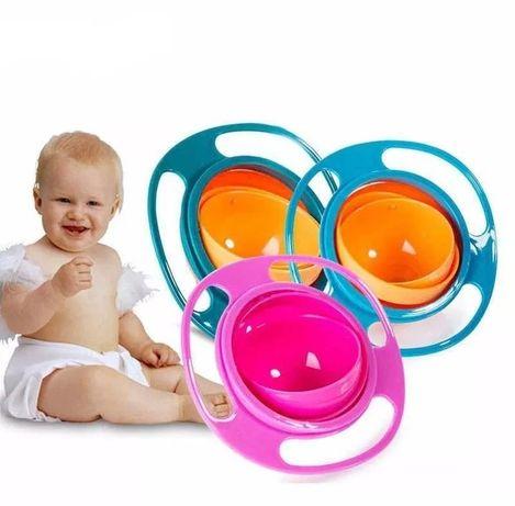 Tigela giratória para bebés