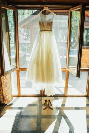 Продам итальянское свадебное платье LUSSANO