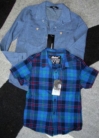 Продам крутые рубашки на мальчика 7-8 лет, ростом 128см НОВЫЕ