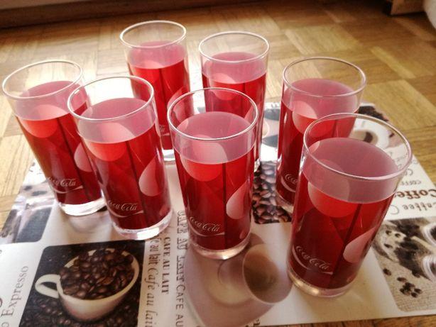 Szklanki Coca-Cola, 7 sztuk