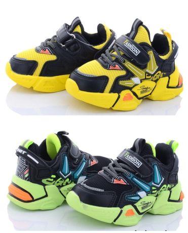 Детские кроссовки для мальчика 21-26р модные легкие 825-2