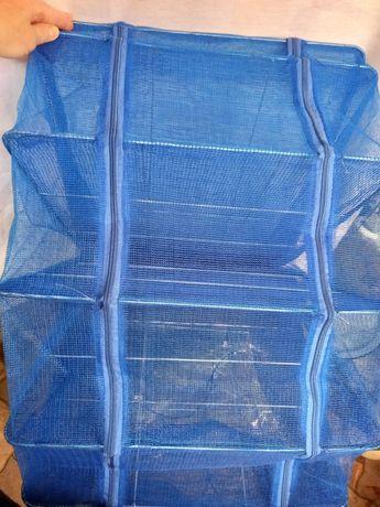 Сетка для сушки рыбы Супер усиленная Королевская 5 полок 50*50*100