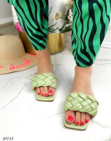 Женские Шлепанцы с квадратным носком на низком ходу