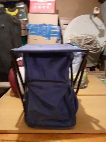 Krzesełko składane jako plecak