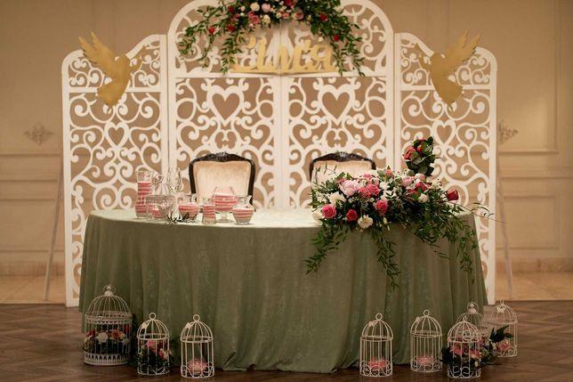 Свадебный декор (арка, ширма, столик и т.д.)