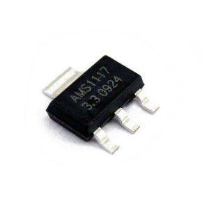 AMS1117-1.8V, AMS1117-3.3V, AMS1117-5.0V sot223 линейный стабилизаторы