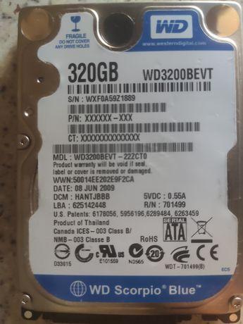 Продам Жесткий диск от WD 320GB