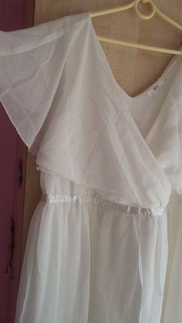 Suknia ślubna 54 boho rustykalna suknia na przebranie wesele