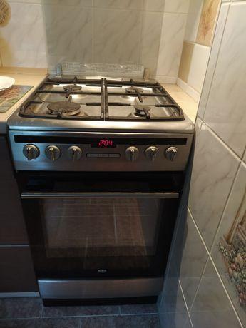 Kuchenka gazowa Amika piekarnik elektryczny z termoobiegiem 50cm