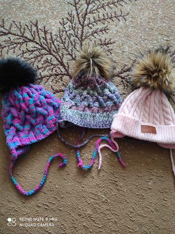 Продам шапки вязаные