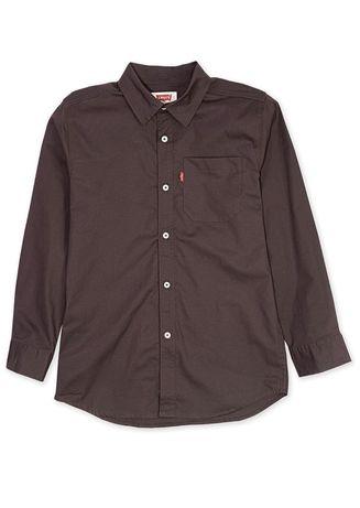 Новая школьная рубашка Levi's подростковый S 8-10 лет.