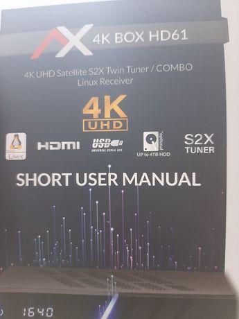 Dekoder 4k UHD COMBO 2 ci