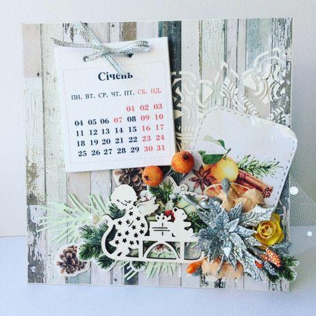 Календари ручной работы