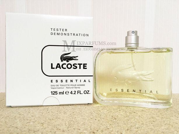 Оригинал Lacoste Essential edt 125 ml m TESTER Туалетная Мужская