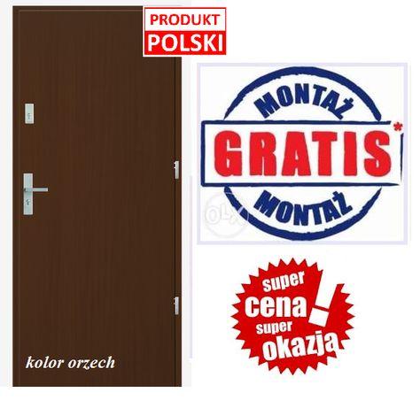Drzwi wejściowe, wewnątrzklatkowe, zewnętrzne