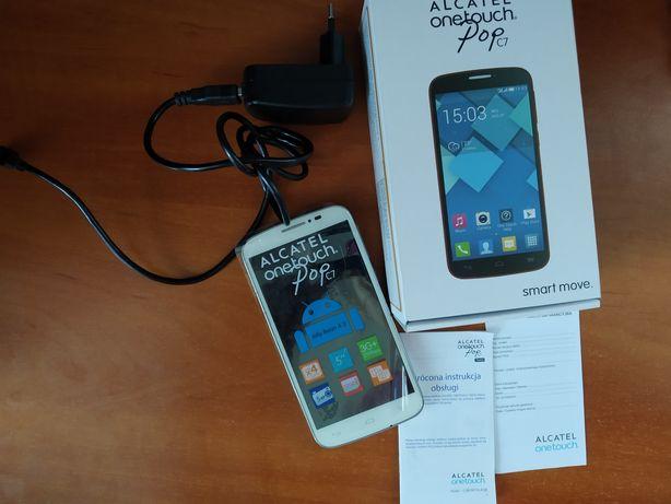 Alcatel onetouch pop C7 white biały telefon smartfon dotykowy