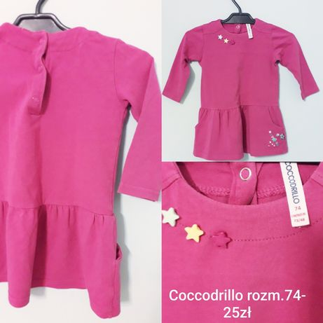Sukienka cccodrillo rozmiar 74