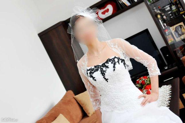 OKAZJA ! Suknia Ślubna rozm.34-36 + GRATIS