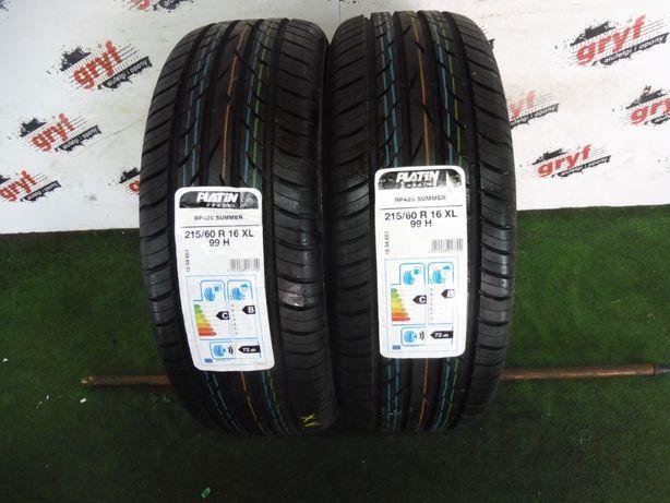 Opony Platin Tyres RP420 Summer 215/60/16 XL