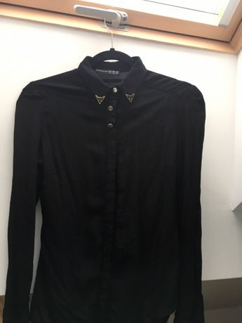 Bluzeczka czarna ze złotymi elementami S/M atmosphere